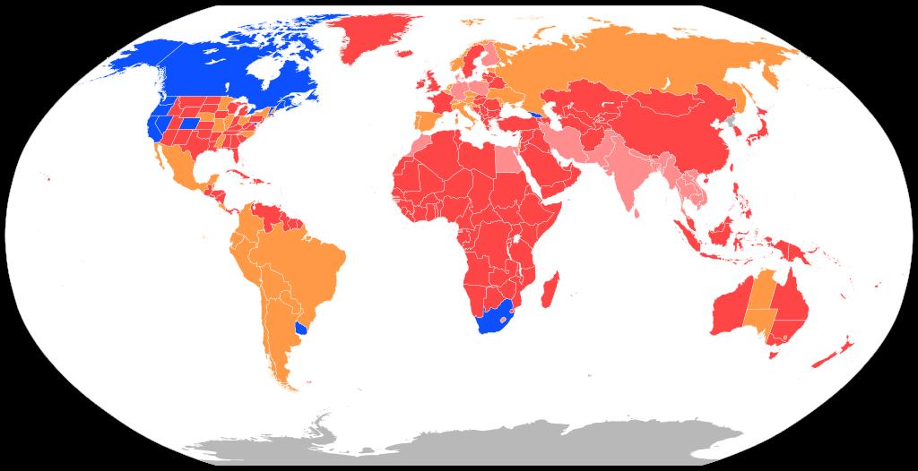 Legalización de la marihuana en el mundo